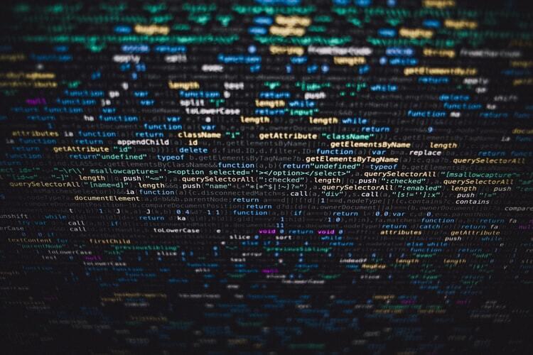 Long block of code