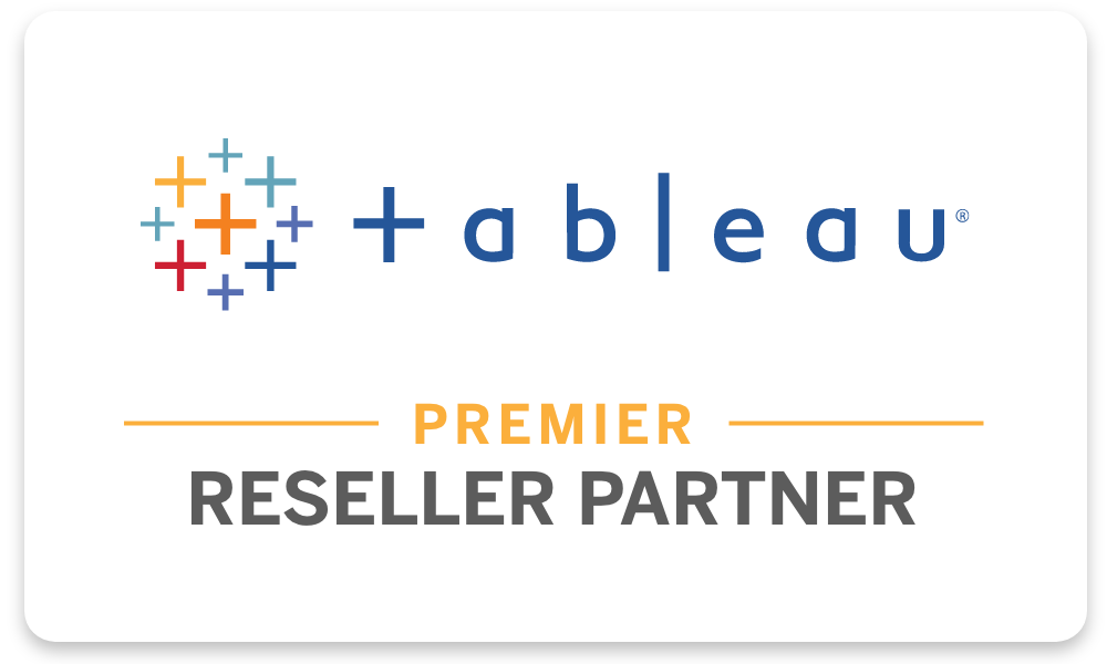 Zuar is a Premier Reseller Partner with Tableau